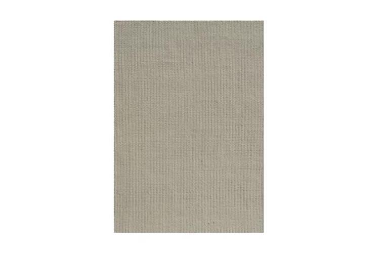 Saga White Wool Rug - 160 x 230 cm