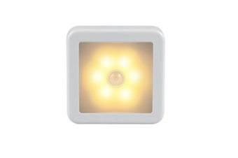 Motion Sensor Led Night Light Rechargeable - Warm Light
