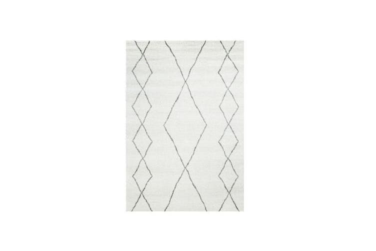 Sherpa Ivory Luxurious Rug - 160 x 230 cm