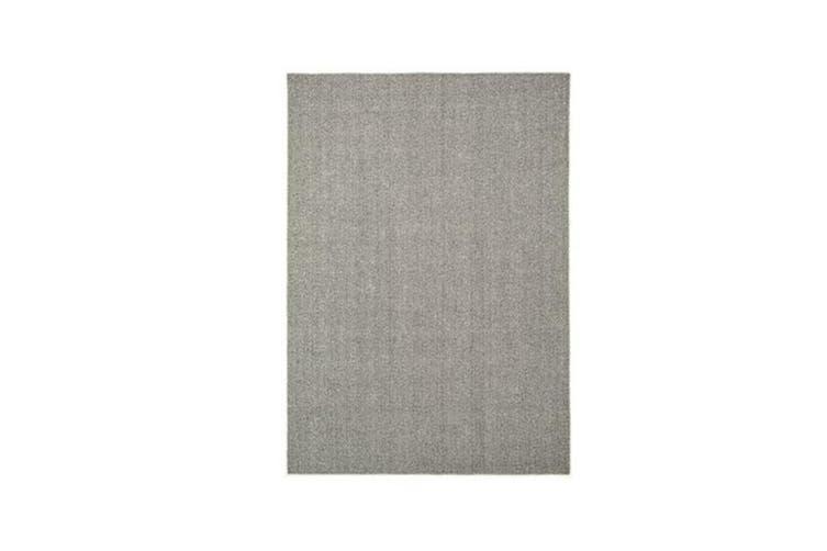 Silverstone Herringbone Slate Rug - 160 x 230 cm