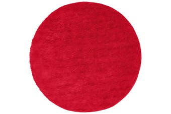 Soho Round Pink Shag Rug - 60X60CM - PACK OF 3
