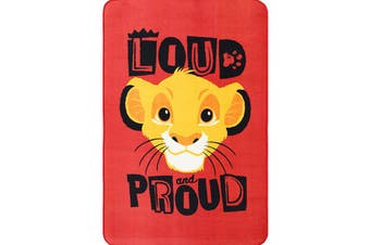 Simba Loud and Proud 100x150cm Area Rug