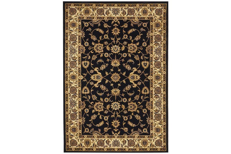 Sydney Collection Classic Blue with Ivory Border Rug - 150X80CM