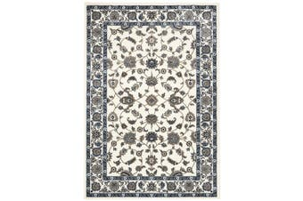 Sydney Collection Classic White with White Border Rug - 400X80CM
