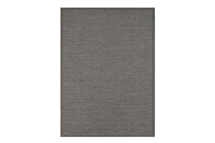 Sydney Charcoal Indoor Outdoor Rug - 120x170 cm