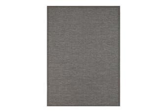 Sydney Charcoal Indoor Outdoor Rug - 160x230 cm