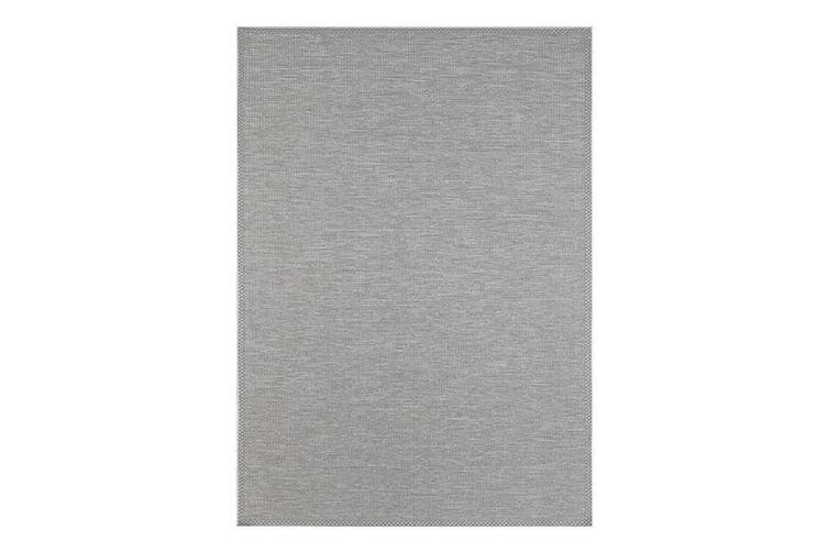 Sydney Grey Indoor Outdoor Rug - 80x150 cm