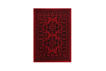 Tribute Afghan Traditional Red Rug - 60x100cm