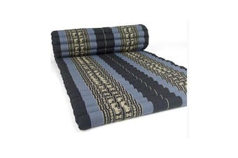 Roll Up Mattress Foldout Mat Blue