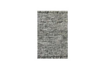 Tulum Antracite Wool Cotton Rug
