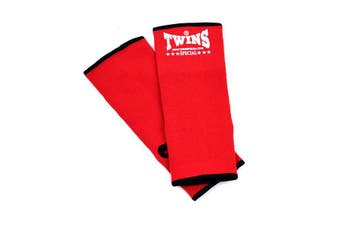 Twins Boxing Ankle Guard Red M