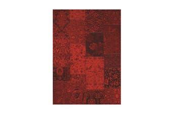 Vintage Edith Red Rug - 80 x 350 cm