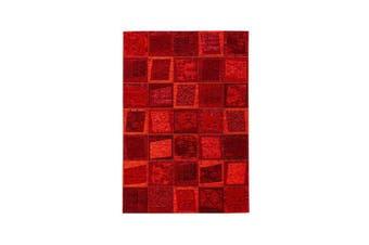 Vintage Tias Red Rug - 160 x 230 cm