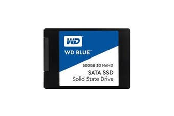WD Blue 500GB 3D NAND SATA SSD Solid State Drive