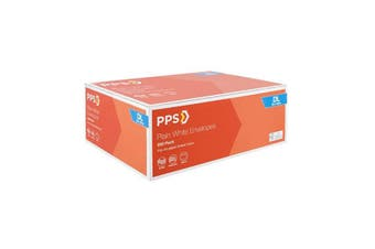 Pps Dl White Envelopes 500 Pack