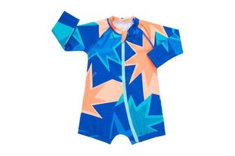 Bonds Baby Swim Long Sleeve Zip Suit 18 to 24 Months