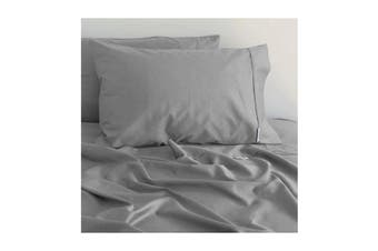 Canningvale Palazzo Royale 1000Tc King Single Sheet Set French Grey