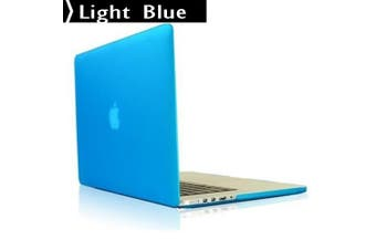 MacBook Pro 13.3 inch Model A1502 A1425 Retina Display Case 2015-2012 Hard Cover light blue