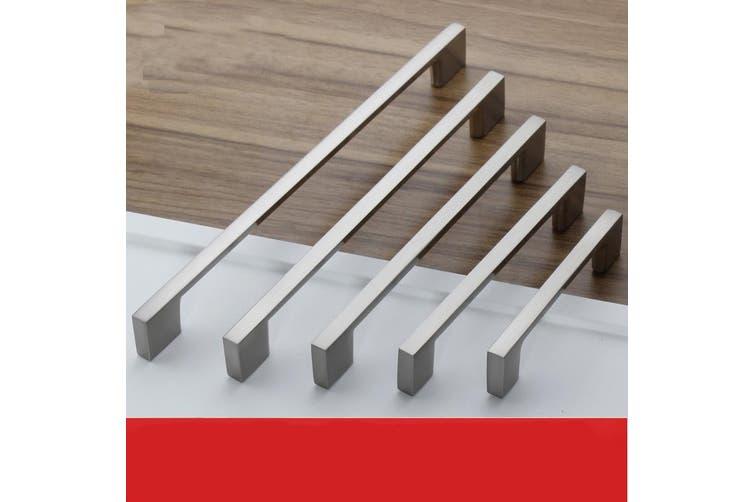 Brushed Nickel Kitchen Door Cabinet Drawer Handle Pulls 224MM