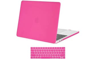 MacBook Pro 13 inch Model 2016-2020 Release A2159 A1989 A1706 A1708 Case Hard Cover Hot Pink