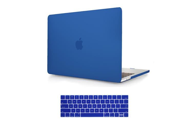 MacBook Pro 13 inch Model 2016-2020 Release A2159 A1989 A1706 A1708 Case Hard Cover Dark Blue