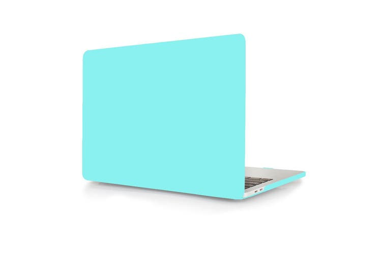MacBook Pro 15 inch Case 2019 2018 2017 2016 Release A1990 A1707 Shell Cover case with Touch Bar - tiffany blue