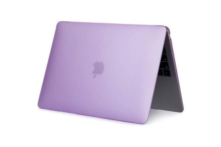 MacBook Air 13 Inch Case 2020 2019 2018, A1932, A2179,Hard Shell Case Keyboard Cover Purple