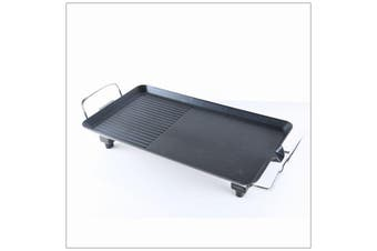 Teppanyaki Electric BBQ Grill Hot Plate Non Stick 2000W KitchenPro Hot Plate