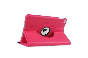 hot pink color 360 Rotate Leather Case Cover For Apple iPad 2 3 4  2011-2013