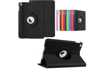360 Rotate Leather Case Cover For Apple iPad mini 1 2 3 black