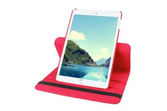 360 Rotate Leather Case Cover For Apple iPad mini 1 2 3 red