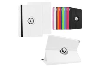 360 Rotate Leather Case Cover For Apple iPad mini 1 2 3 white