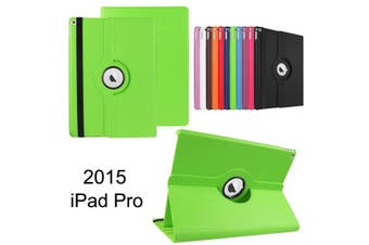 Green 360 Rotate Leather Case Cover For Apple iPad pro 12.9 inch 2015