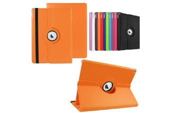 Orange 360 Rotate Leather Case Cover For Apple iPad pro 12.9 inch 2015