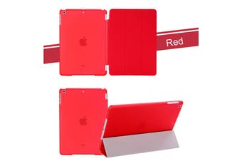 iPad Case for 9.7inch ipad Air  5th Gen Smart Cover Stand red