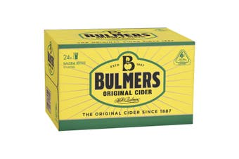 Bulmers Original Cider 24 x 330mL Bottles (Free Shipping)