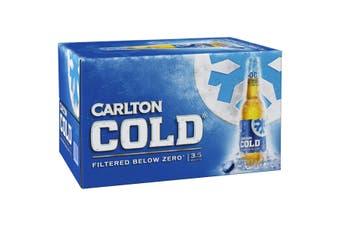 Carlton Cold Beer Case 24 x 355mL Bottles