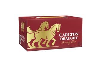 Carlton Draught Beer 24 x 375mL Bottles