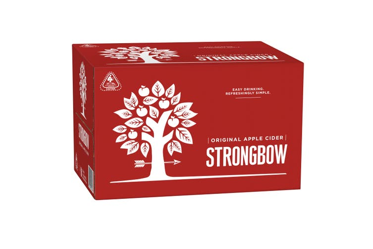 Strongbow Classic Apple Cider Case 24 x 355mL Bottles
