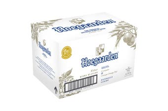 Hoegaarden Beer 24 x 330mL Bottles Plus Bonus Sonder Sparkling Rose 24 x 250ml cans