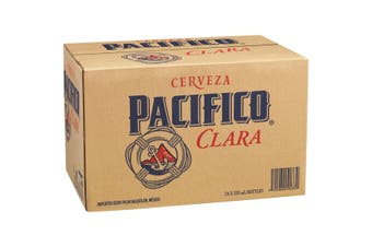 Pacifico Clara Beer Case 24 x 355mL Bottles
