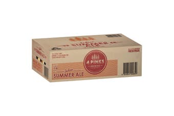 4 Pines Indian Summer Ale  Beer Case 24 x 375mL Cans