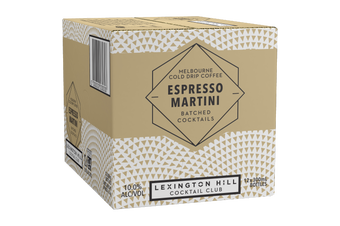 Lexington Hill Espresso Martini Case 12 x 300ml