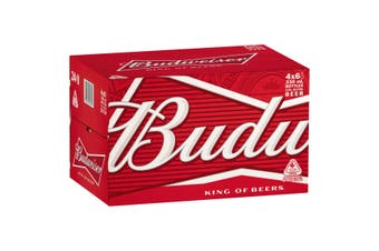 Budweiser Beer Case 24 x 330mL Bottles