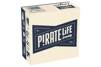 Pirate Life Port Local Lager Beer Case 16 x 355mL Cans
