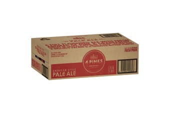 4 Pines Pale Ale  Beer Case 24  x 375mL Cans