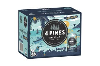 4 Pines Pacific Ale Beer 30 x 375mL (Free Shipping)
