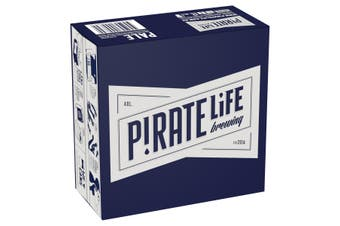 Pirate Life Brewing Pale Ale Beer Case 16 x 355mL