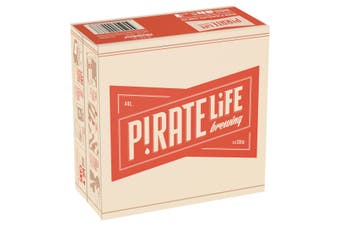 Pirate Life Throwback India Pale Ale Beer Case 16 x 355mL