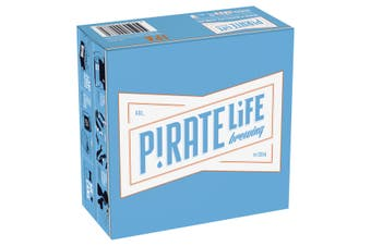 Pirate Life India Pale Ale Beer Case 16 x 355mL